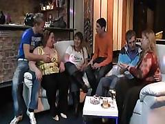 Busty fatty takes off her clothes
