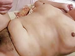 Hairy fat granny getting fucked pretty hard