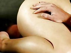 BBW brunette Leny makes a slave eat her thick pussy