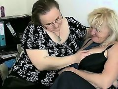 Two gorgeous lesbians mature gets horny part6