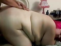 Beautiful BBW babe enjoys a fuck and a facial