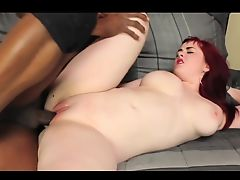 yummy redhead pale girl fucked by a bbc
