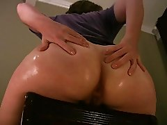 big ass amateur anal fingering