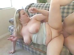 Chubby Blonde Banging Away #2