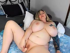 Busty Black BBW With Huge Boobs